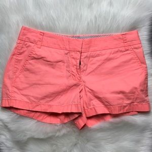 Jcrew Broken in chino shorts sz 6